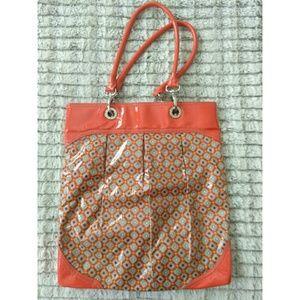 Vera Bradley Frill SOI Paprika Orange Tote Bag
